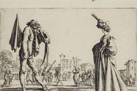 Jacques CALLOT       :  Les balli di Sfessania
