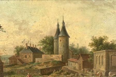 Jean-Baptiste CLAUDOT       : Nancy, Porte de la Craffe