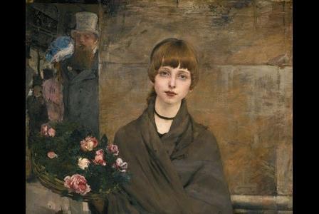 Jules BASTIEN-LEPAGE       :   Marchande de fleurs à Londres