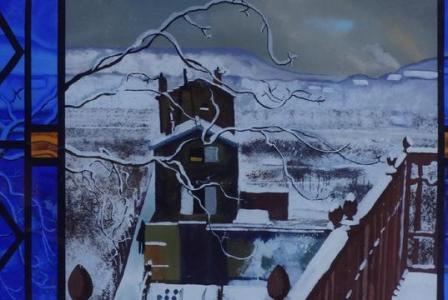 Etienne COURNAULT       :    Paysage d'hiver