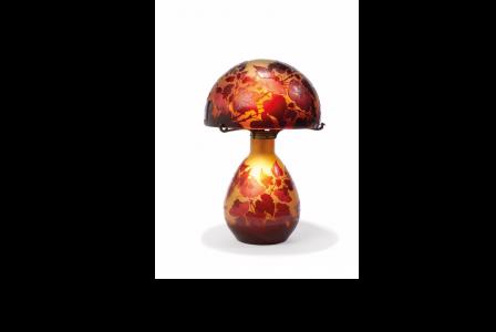 Emile GALLÉ         :    Lampe vulubilis