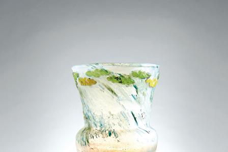 Emile GALLÉ         :     Vase parlant aux têtards