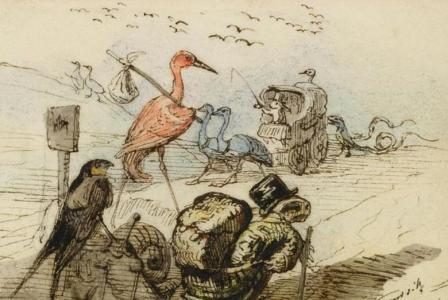 Jean-Jacques-Isidore GRANDVILLE       :   Et d'abord, pourquoi voyage-t-on ?