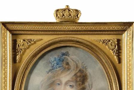 Jean-Baptiste ISABEY       :   Portrait de la Reine Hortense