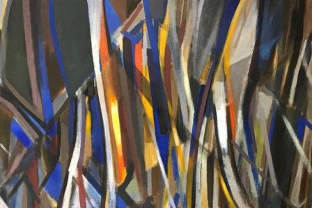 Jacques-Henri MARTIN       :  Rideau d'arbres