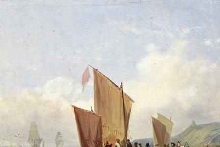 Jules Achille NOEL       :  Retour de pêche