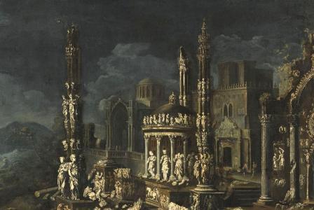 François de NOME       :  Caprice architectural
