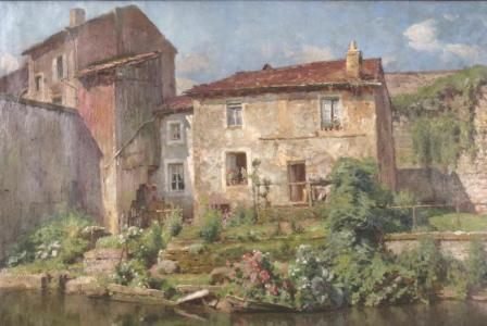Alfred RENAUDIN       : Baccarat, le Canal