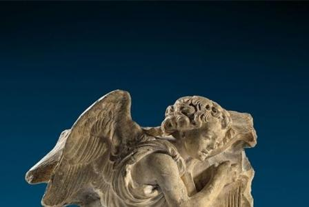 Ligier RICHIER       :  Harp playing angel from a Nativity scene