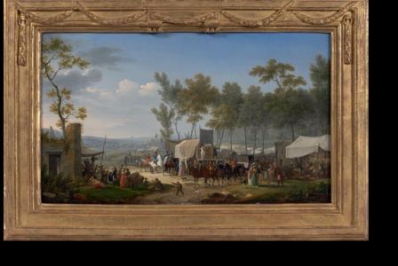 Jacques-François-Joseph SWEBACH       :  Une foire de village