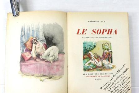 Georges VILLA       :  Le Sopha
