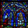 "Nicolas COFFETIER ""Vitrail de la cathédrale de Reims"""