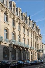 Emile TOUSSAINT       :  L'immeuble de la CCI de Nancy
