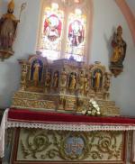 Jean-Claude JAQUIN       :  Eglise Saint-Valbert, Fouchécourt, Vosges