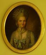 """Charles Alexis HUIN  """"Portrait de la Baronne de Mackau"""""""
