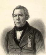 """Charles BOUR  """"Portrait de Philippe Buchez"""""""