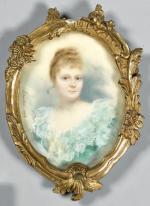 """Jeanne CONTAL  """"Portrait de la Marquise de Pomereu"""""""