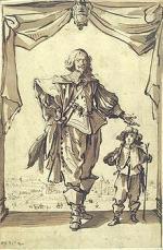 Claude DERUET  et son fils gravé par J. Callot