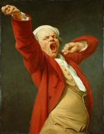 """Joseph DUCREUX   """"Autoportrait baillant"""""""