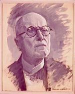 """Edmond Marie DUPUIS  """"Portrait d'Edouard Branly"""""""