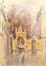 """Antoine GIGUET  """"Nancy, la Place Stanislas"""""""