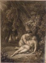 """Charles de LALAISSÉ  """"Adam et Eve"""""""
