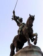 "Mathias SCHIFF  "" Statue de René II Duc de Lorraine"""