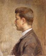 "Pierre WAIDMANN  ""Auto-portrait"""