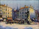 """Charles WITTMANN  """"Le rémouleur Place St. Epvre"""""""