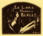 Georges DEMEUFVE       :  Ex-libris