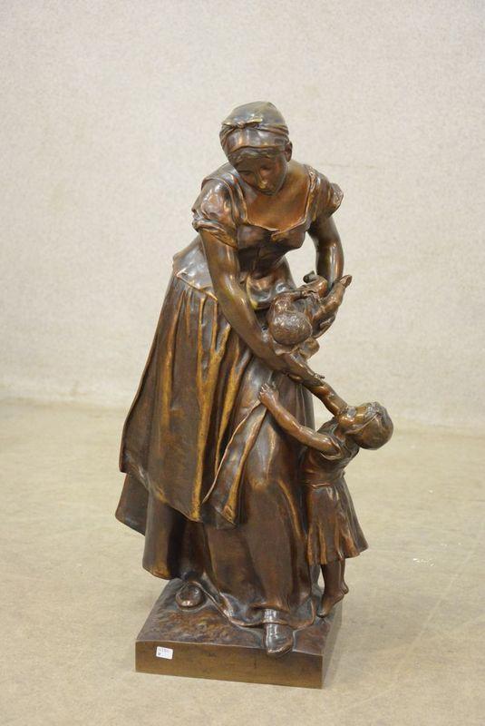 Jean-Paul AUBÉ       :  Mère et enfants