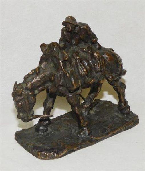 Gaston BROQUET       :    Cavalier et sa monture