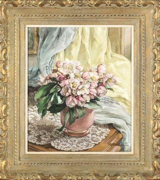 Louise COTTIN       :  Les roses de Noel