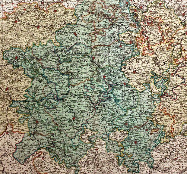 Les duchés de Lorraine et de Bar