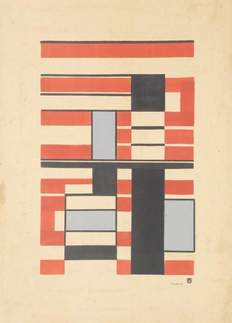 Georges FOLMER       :  Composition géométrique