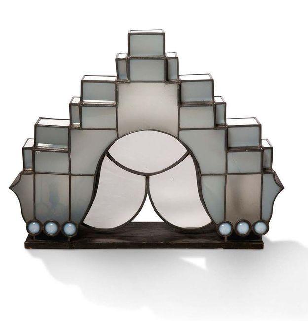 """Jacques GRUBER       :  Lampe de table """"Art Déco"""""""