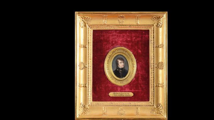 Jean-Baptiste ISABEY       :      Portrait de Napoléon Bonaparte, Président de la République Cisalpine