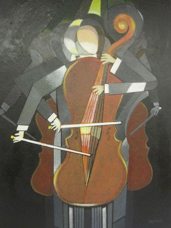 Roger MENIN       :  L'amour du violoncelle