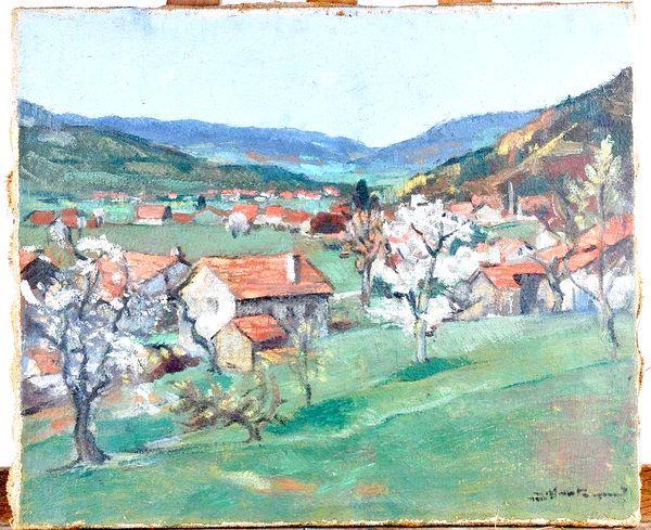 Jean MONTEMONT       :  Paysage des Vosges