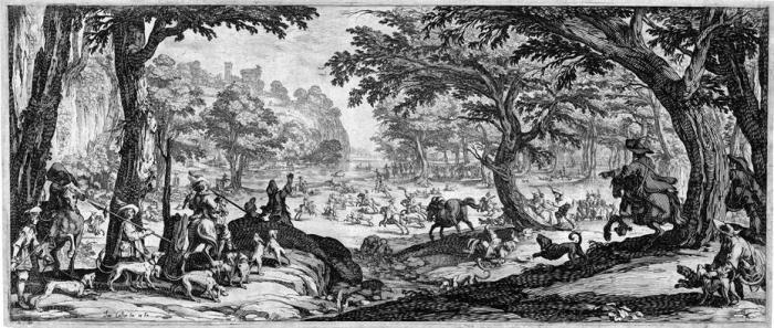 Jacques CALLOT       :  La grande chasse