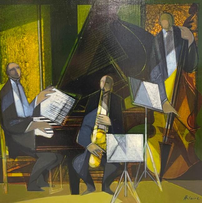 Camille HILAIRE       :  Le trio