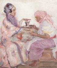 """Marguerite DELORME  """"Le henné"""""""