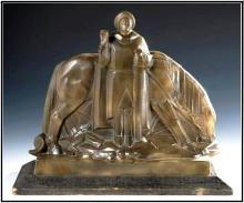 """Emile BACHELET  """"Saint Georges terrassant le dragon"""""""