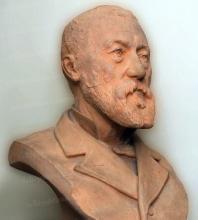 "Casimir BALTHASAR de GACHEO    ""Buste de l'artiste"""