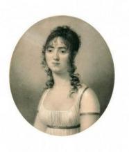 """François BAUDIOT  """"Portrait de jeune femme"""""""