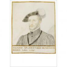 """Henri BELLANGE  """"Henry d'Albret Roy de Navarre"""""""
