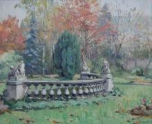 """Marcel CORRETTE  """"Le parc de Monsieur Corbin"""""""