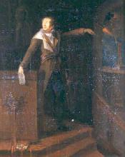 """Jeanne DABOS  """"Marat votant la mort de Louis XVI"""""""
