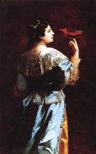 "Léonie EHRMANN  ""La cantatrice Adelina Patti"""