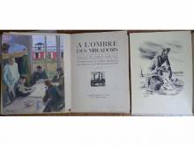 """Raymond ENARD Illustrations de """"A l'ombre des miradors"""""""